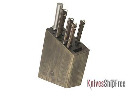 Shun Knives: Kanso Block Set 6pc. - SWTS0600