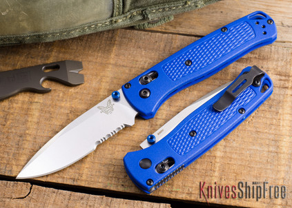 Benchmade Knives: 535S Bugout - AXIS® Lock - S30V - Partially Serrated