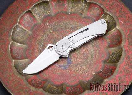 Spartan Blades: Nymph - Stonewash - CPM S35Vn