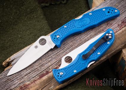 Spyderco: Endura 4 - Blue FRN - VG-10 - C10FPBL