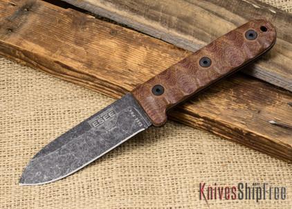 ESEE Knives: Camp-Lore PR4 - Black Oxide Finish