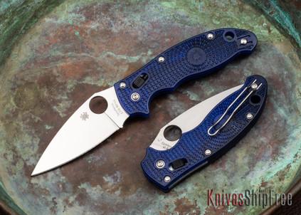 Spyderco: Manix 2 Lightweight - Blue FRCP - CTS-BD1N - C101PBL2