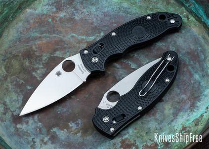 Spyderco: Manix 2 Lightweight - Black FRCP - CTS-BD1N - C101PBK2