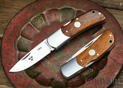 Fallkniven: TK3 - Tre Kroner Folder - Desert Ironwood - 3G Steel