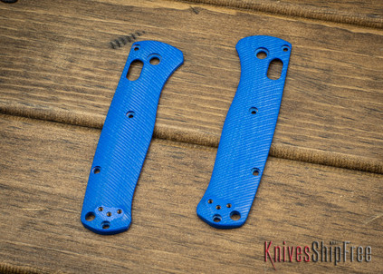 Custom Benchmade Bugout Scales - Blue G-10