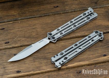 Kershaw Knives: Lucha - All Steel Butterfly Knife - 5150