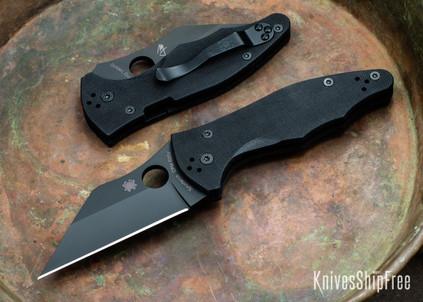 Spyderco: Yojimbo 2 Black Blade - Black G-10 - CPM S30V - C85GPBBK2
