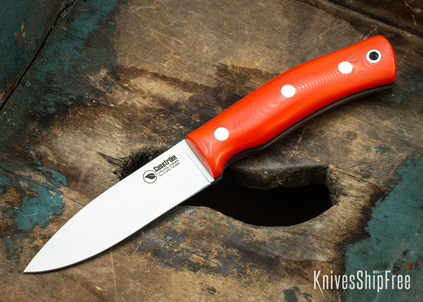 Casstrom: No.10 Swedish Forest Knife - Orange G-10