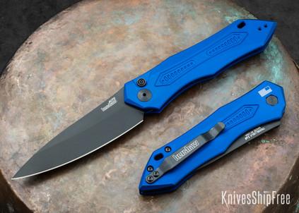 Kershaw Knives: Launch 6 - Blue Aluminum - Black DLC - 7800BLUBLK