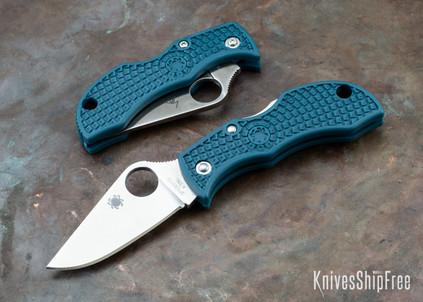 Spyderco: ManBug Lightweight - Blue FRN - K390 - MFPK390