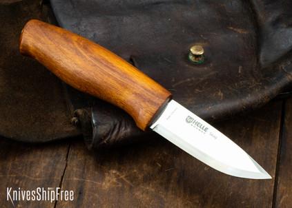 "Helle Knives: Skog - 2.9"" Scandi Blade - Beechwood"