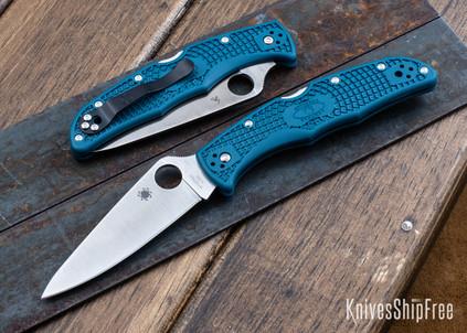 Spyderco: Endura 4 Lightweight - Blue FRN - K390 - C10FPK390