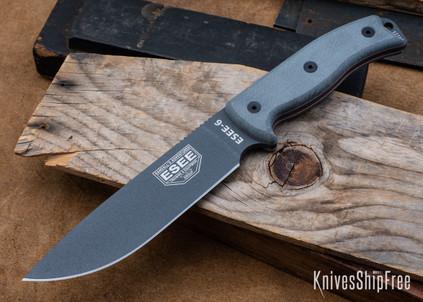 ESEE Knives: ESEE-6P-TG - Tactical Gray Finish