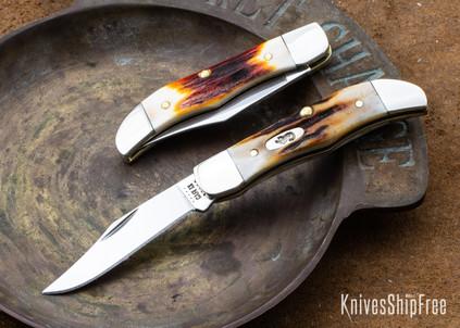 Case Knives: Red Stag Pocket Hunter - 09582