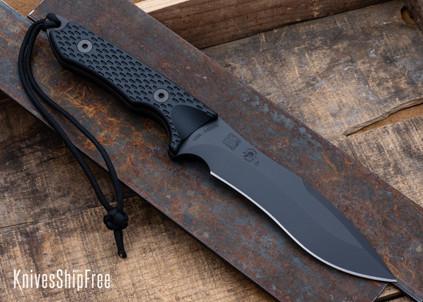 Spartan Blades: Ronin Shinto - Black Micarta - CPM-S45VN - Black PVD