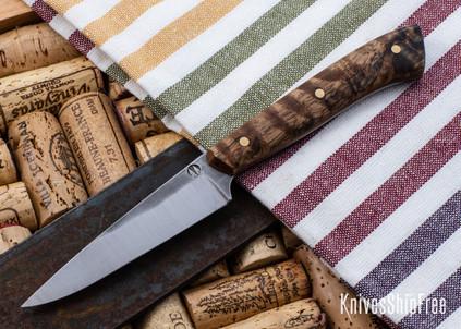 Carter Cutlery: Muteki - Paring Knife - Mango Wood - Natural Liners - CC05EG001