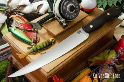 Bark River Knives: Kalahari Sportsman - CPM 154 - American Walnut - Brass Pins #1