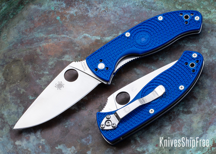 Spyderco: Tenacious Lightweight - Blue FRN - CPM-S35VN - C122PBL