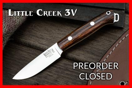 Bark River Knives: Little Creek 3V Preorder