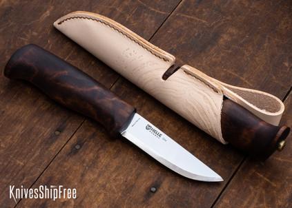 """Helle Gro - 3.6"""" Scandi Knife - Dark Birch"""