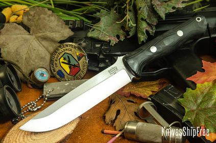 Bark River Knives: Bravo 1.5 - Black Suretouch - Matte