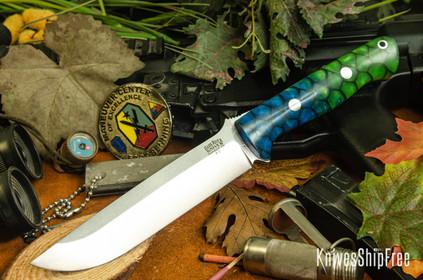 Bark River Knives: Bravo 1.5 - Borealis Dragon Scale