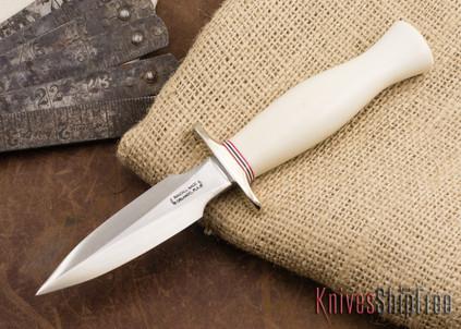 Randall Made Knives: Model 2-5 Letter Opener - Ivorite - Nickel Silver Hilt - Name Engraved