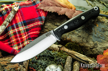 Bark River Knives: UP EDC - Black G-10