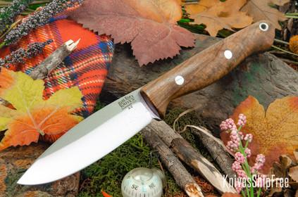 Bark River Knives: UP Gunny - Natural Maple Burl #1