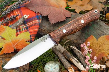 Bark River Knives: UP Gunny - Rose Jute Wood