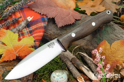 Bark River Knives: UP Gunny - Wenge - Black Liners #1