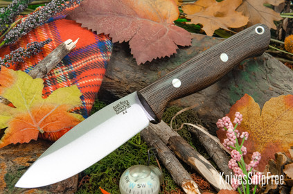 Bark River Knives: UP Gunny - Wenge - Black Liners #2