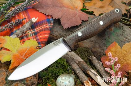 Bark River Knives: UP Gunny - Wenge - Black Liners #3