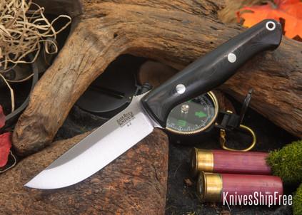 Bark River Knives: Gunny - Black G-10