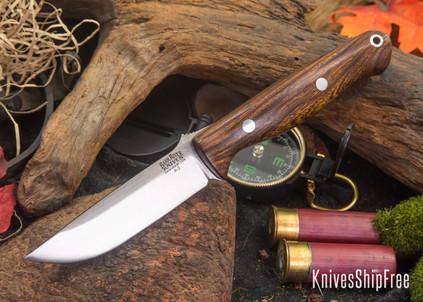 Bark River Knives: Gunny - Desert Ironwood - Black Liners #1