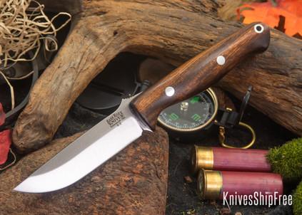 Bark River Knives: Gunny - Desert Ironwood - Black Liners #2