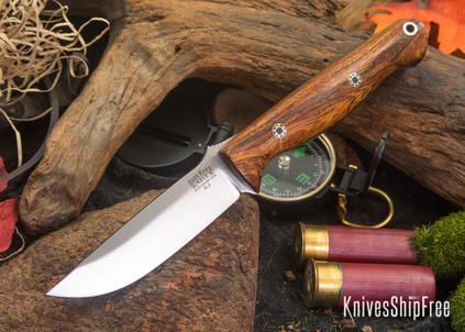 Bark River Knives: Gunny - Desert Ironwood - Mosaic Pins #2