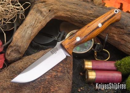 Bark River Knives: Gunny - Desert Ironwood - Red Liners #2