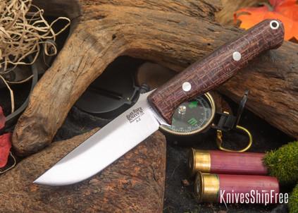 Bark River Knives: Gunny - Drunken Coffeebag Laminate