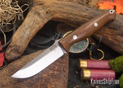 Bark River Knives: Gunny - Tan Burlap Micarta