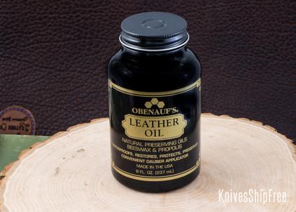 Leather Care: Obenauf's Leather Oil - 8 oz