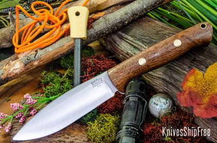 Bark River Knives: UP Bravo - American Walnut - Brass Pins #3