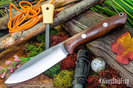 Bark River Knives: UP Bravo - American Walnut #1