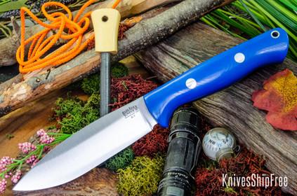 Bark River Knives: UP Bravo - Blue Glow G-10