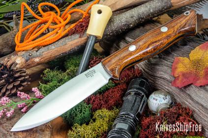 Bark River Knives: UP Bravo - Desert Ironwood #5
