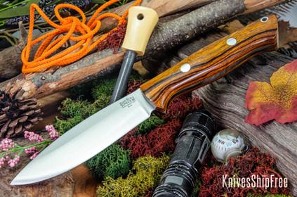 Bark River Knives: UP Bravo - Desert Ironwood #7
