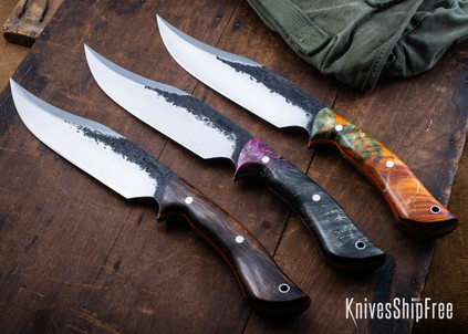 Lon Humphrey Knives: Gunfighter Bowie - 52100