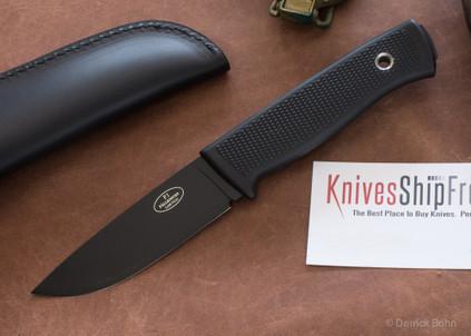 Fallkniven: F1 - Black Blade - VG 10 - Leather Sheath
