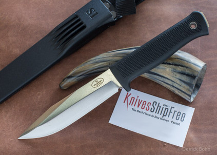 Fallkniven: S1 Forest Knife - Laminated VG10 Steel - Satin Blade - Zytel Sheath