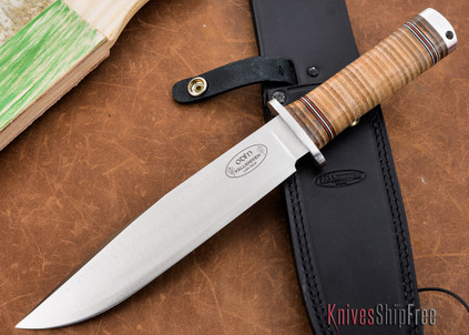 Fallkniven: NL2 Odin - Northern Lights Series - Stacked Leather